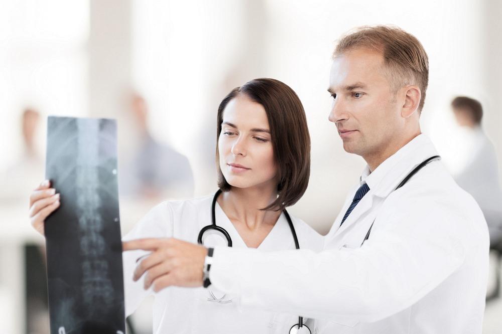 rentgenový snímek páteře