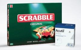 Soutěž o přírodní doplněk stravy Acutil a cestovní hru Scrabble