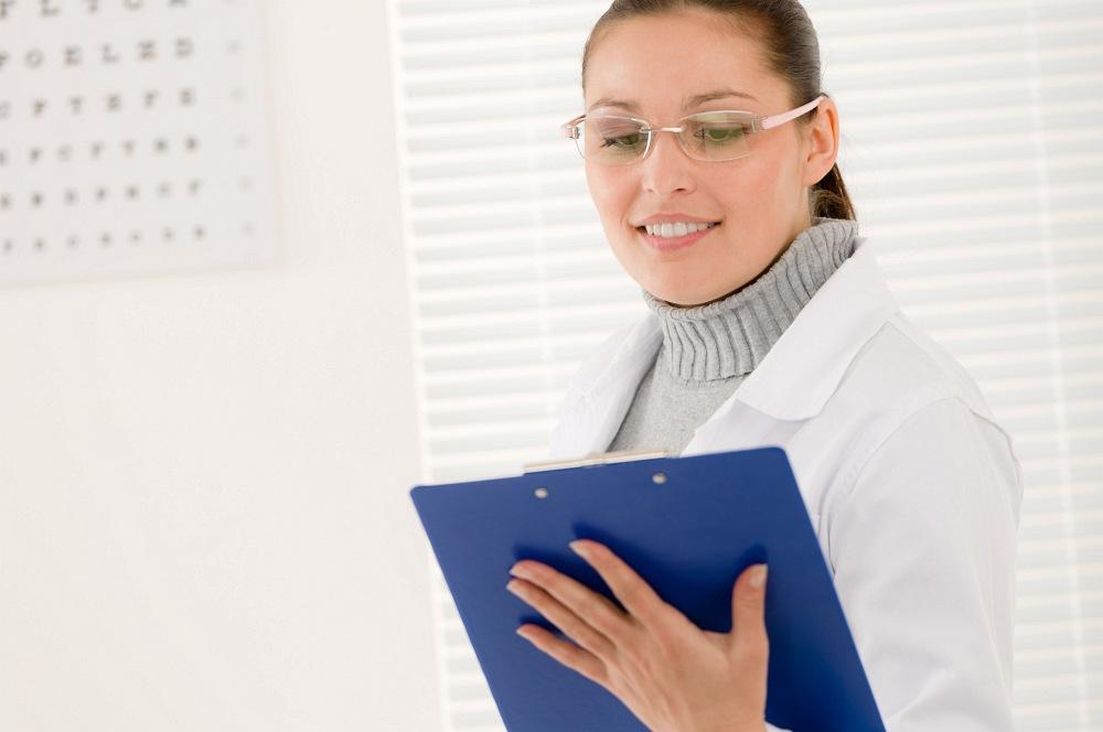 oční lékařka