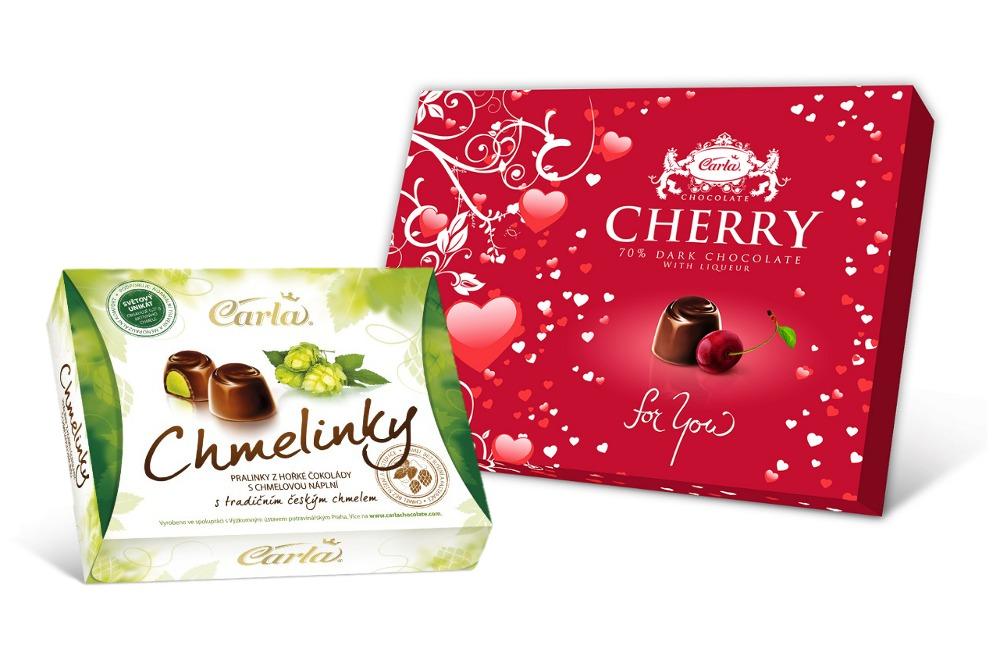 Čokoládovna Carla - Chmelinky a Cherry