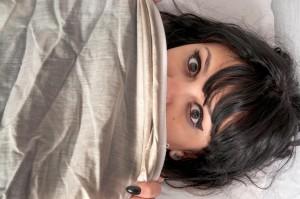 paralyzovaná žena , spánková paralýza