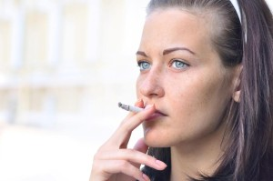 kouření na ulici