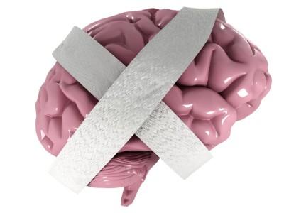 demence, nemocný mozek