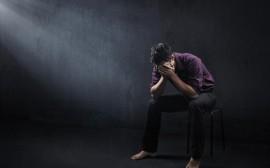 depresivní muž