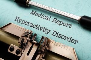 lékařská zpráva o hyperaktivitě