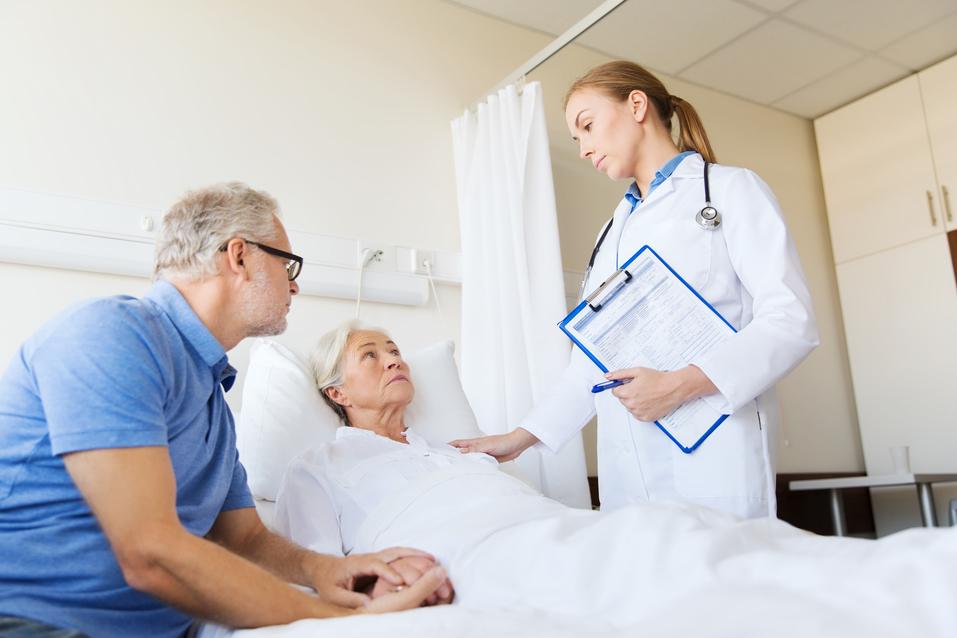 imobilita pacientky v nemocnici