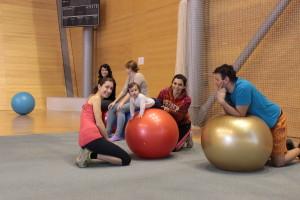 MaRS cvičení na míčích
