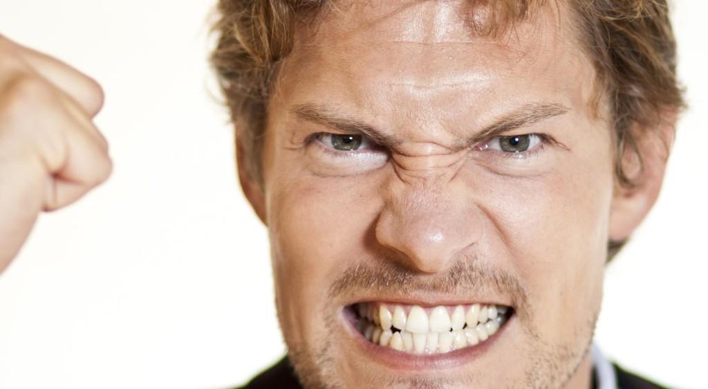 vzteklý muž